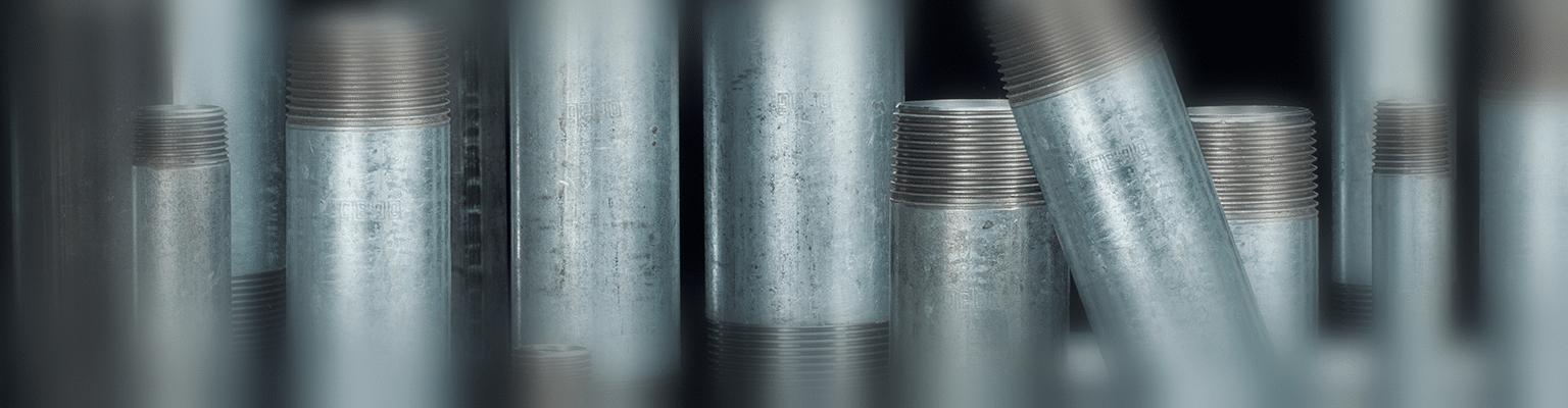 Gebo Nipple - Króciec stalowy gwintowany jednostronnie